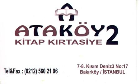 Ataköy Kırtasiye 7-8.kısım 5602196