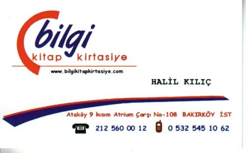 Bilgi Kırtasiye Kitap Gazete Fotokopi Oyuncak Atrium Çarşısı Ataköy istanbul