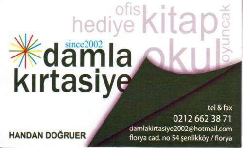 FLorya Damla Kırtasiye Kitap Fotokopi Florya Florya Caddesi 54 istanbul
