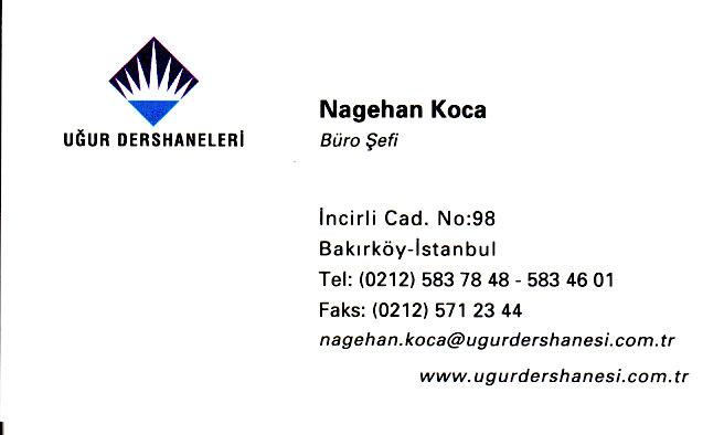 Ugur Dershanesi LYS YGS Hazırlık Bakırköy